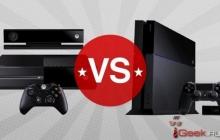 Sony PlayStation 4 VS Microsoft Xbox One