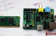 Raspberry Pi размером с карту памяти
