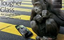 Gorilla Glass 4 — устойчив к падениям