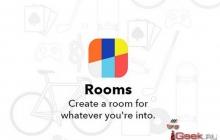 Facebook представила приложение Rooms