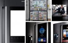 Стала известна стоимость холодильников Samsung с дисплеем и Wi-Fi