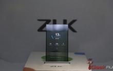 ZUK показала смартфон с прозрачным экраном