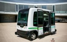 Беспилотные автобусы начали ездить в Калифорнии