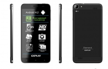 Explay представила 8-ми ядерный планшетофон Explay Diamond