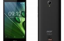 В России начались продажи смартфонов Acer Liquid Zest
