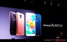 Samsung представила Galaxy S5