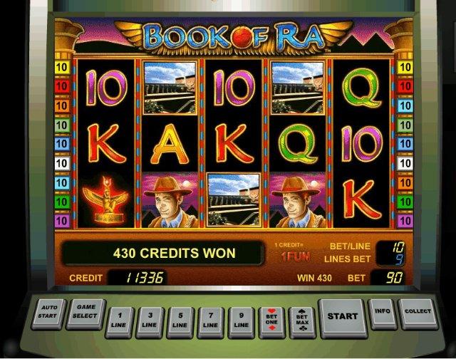 Виртуальные игровые автоматы онлайн казино