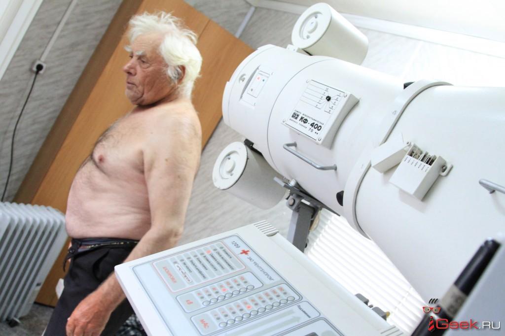 Чтобы пройти флюорографию, серовчанам придется сходить к терапевту. Дважды