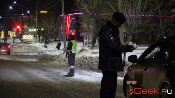 В рождественские каникулы инспекторы ГИБДД Серова поймали 7 пьяных водителей