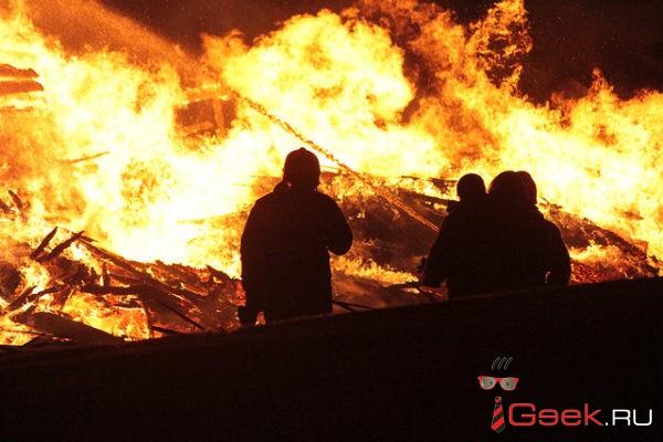 В селе Филькино произошел пожар – четвертый с начала года в Серовском горокруге