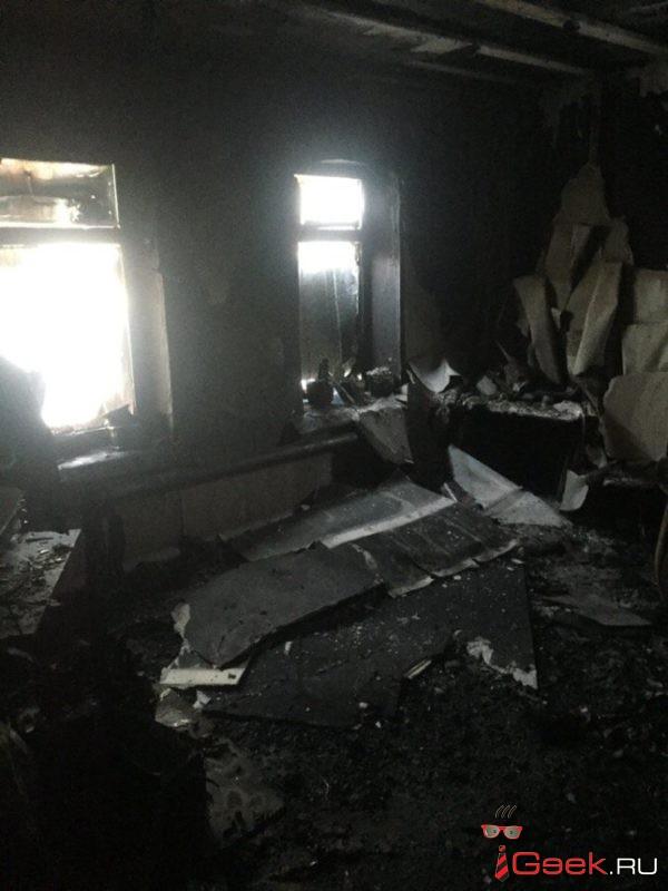 Погорельцы просят помощи. Пенсионеры из Серова потеряли в огне все, что имели