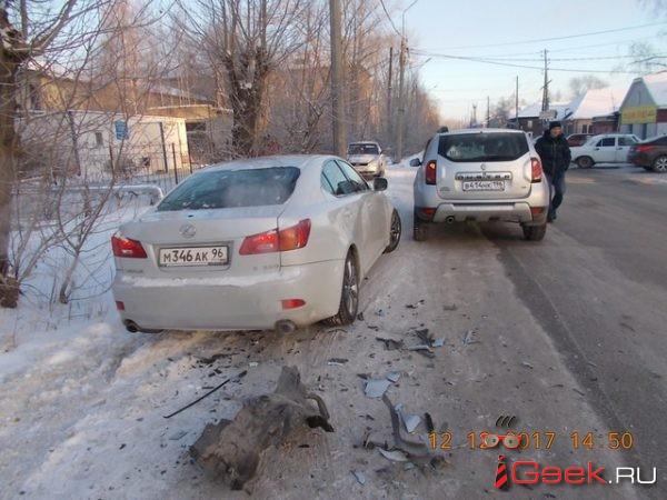Серовчанин просит откликнуться свидетелей ДТП, которое случилось на перекрестке улиц Народная-Димитрова. Там столкнулись «Лексус» и «Рено Дастер»