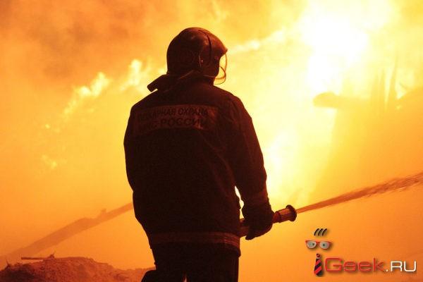 При пожаре в серовских Андриановичах погиб человек