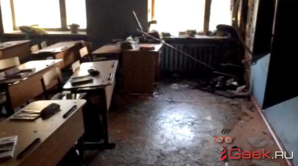 В Бурятии подросток напал на школьников с топором и поджег класс