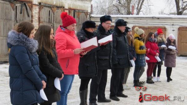 В Татьянин день серовские студенты побывали на экскурсии в отделе полиции