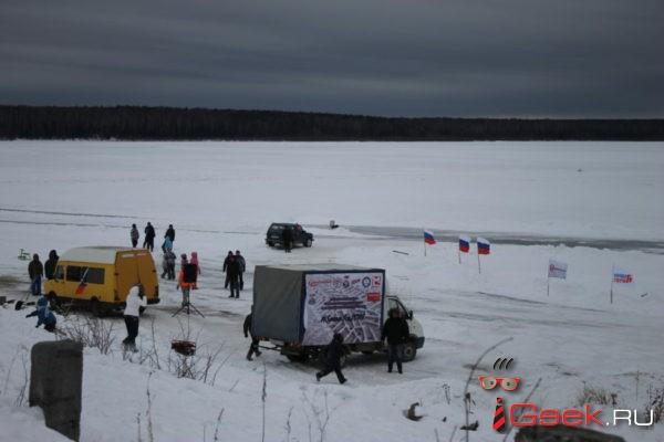 На Киселевском водохранилище прошли большие автогонки. Кто победил?