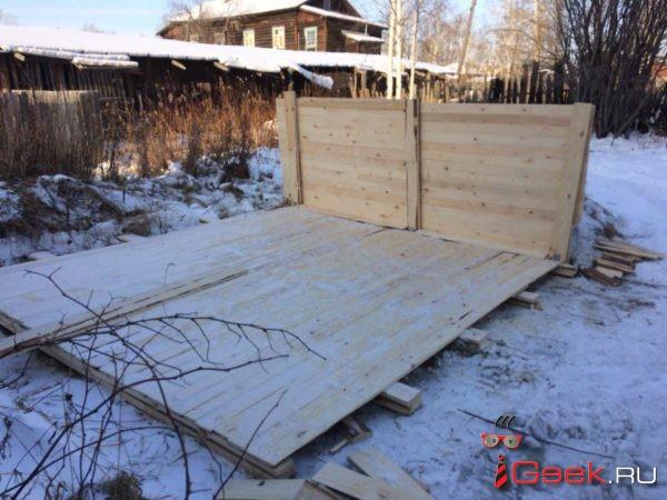 В Серове началось строительство передержки для бездомных собак