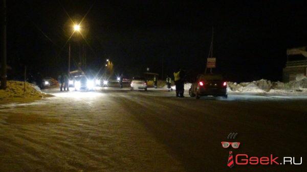 За три дня на дорогах Серовского горокруга поймали шестерых пьяных водителей