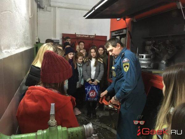 Серовские огнеборцы рассказывают, почему огнетушитель – друг детей