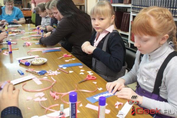 Серовские школьники в День всех влюбленных приняли участие в акции «Дарите книги с любовью»