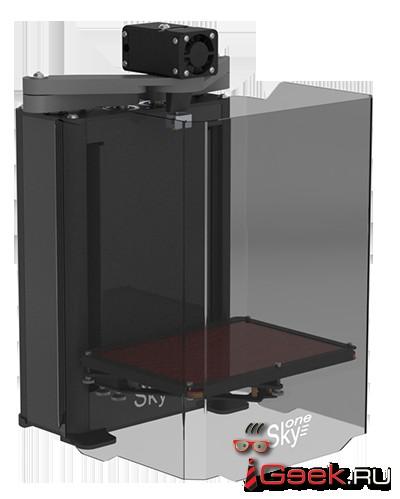 Принтер для объемной печати с уникальными свойствами
