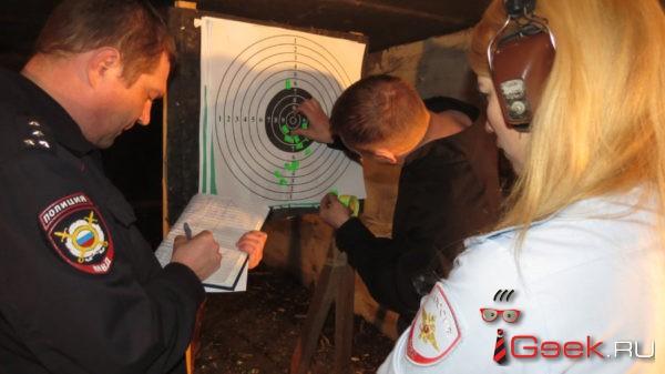 Перед 8 Марта женщины из полиции Серова соревновались в стрельбе