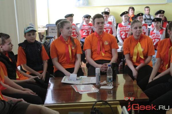 В Серове на районном слете Дружин юных пожарных лучшими оказались ребята из сосьвинского Восточного