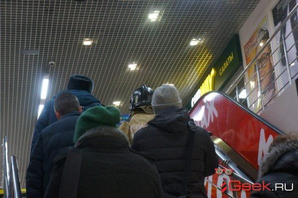 Учения в Серове: из-за пожара эвакуировали торговый центр NEBO