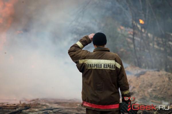 В Серове при пожаре погиб хозяин дома по улице Островского