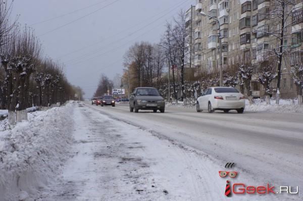 ГИБДД Серова призывает водителей и пешеходов быть крайне внимательными. Всему виной осадки