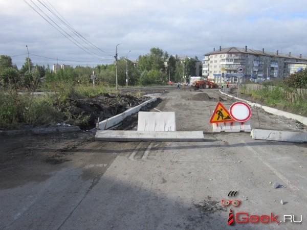 В Серове попытаются обязать подрядчика по гарантии устранить недостатки дорожного полотна на улице Нансена
