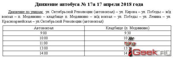 В Радоницу  до кладбища в Серове будет ходить автобус. Расписание