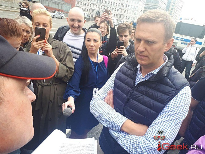 Митинг в защиту Telegram и свободного интернета в Москве. Репортаж Znak.com