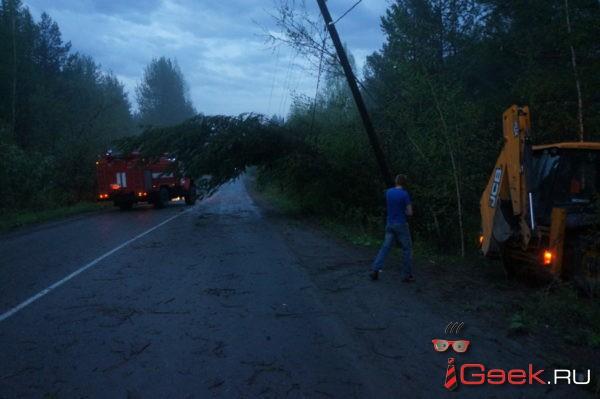За 2 дня в Серовском городском округе произошло 6 аварийных отключений света. Виновата погода