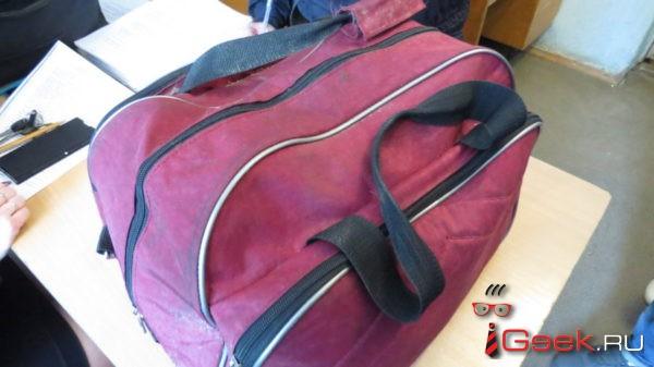 Полиция Серова разыскивает хозяина  бордовой сумки