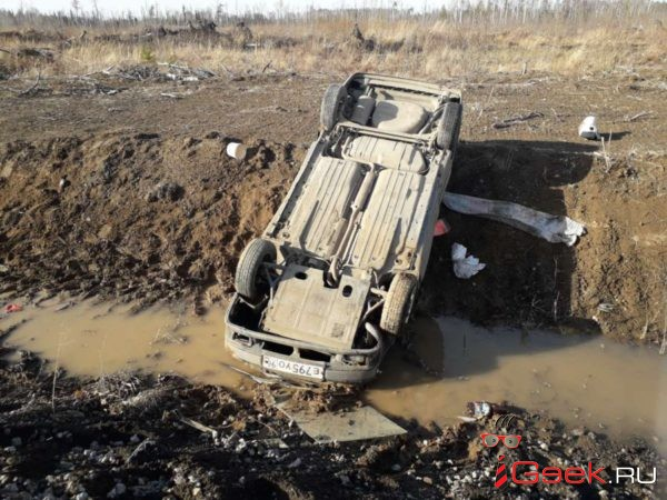 В первомайские выходные ГИБДД Серова ловила пьяных водителей. Один из них попал в ДТП под Романово