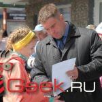 В Серове прошла эстафета школьников