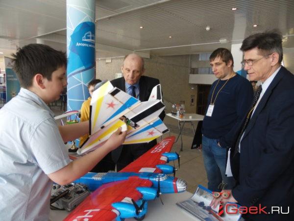Серовские авиамоделисты поучаствовали в фестивале «Технофест»