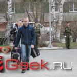 В Серове прошла очередная отправка призывников в армию