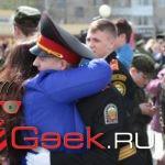Серовские кадеты попрощались со знаменем