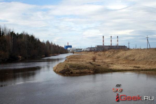 Серовская ГРЭС проходит пик паводка