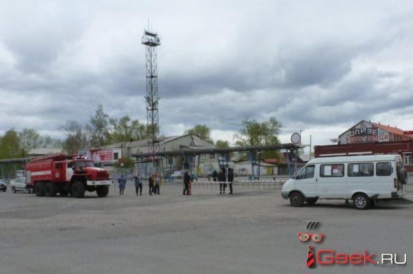 В Серове оцепили автовокзал. Из-за бесхозных вещей