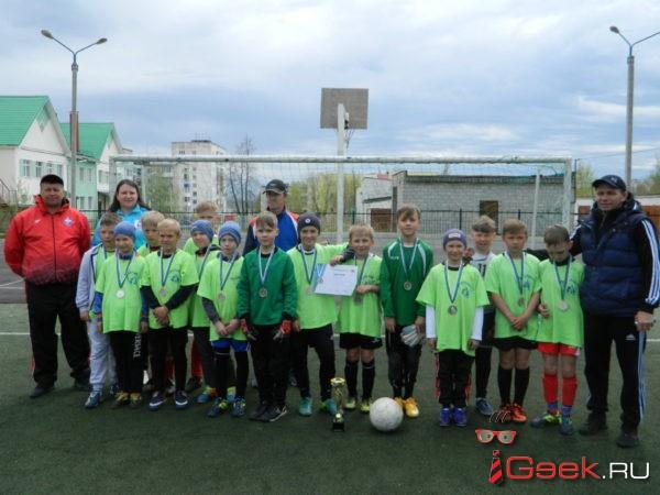 Юные серовские футболисты стали вторыми в борьбе за «Кожаный мяч»