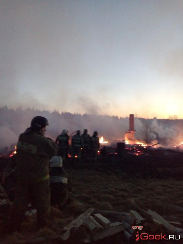 «Ветром все быстро разнесло по поселку». Жители Красного Яра рассказывают про пожар, который мог уничтожить поселок