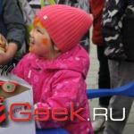 Непогода не помешала серовчанам весело отметить День защиты детей. Фотоотчет с праздника