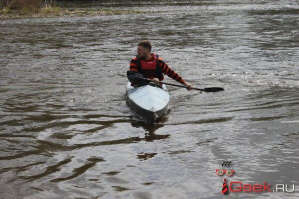 В Серове прошли соревнования по водному туризму