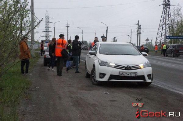ГИБДД Серова и железнодорожники напомнили водителям о мерах безопасности на железнодорожных переездах