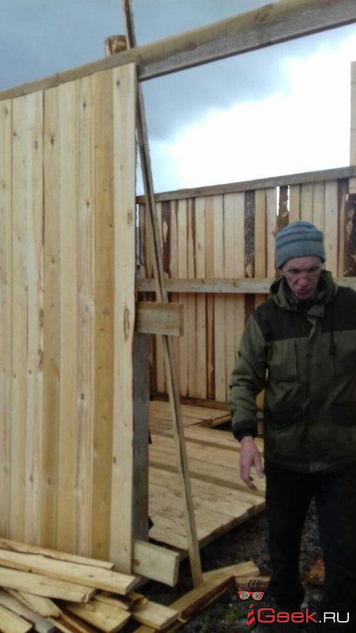 В Серове началось строительство приюта для бездомных собак