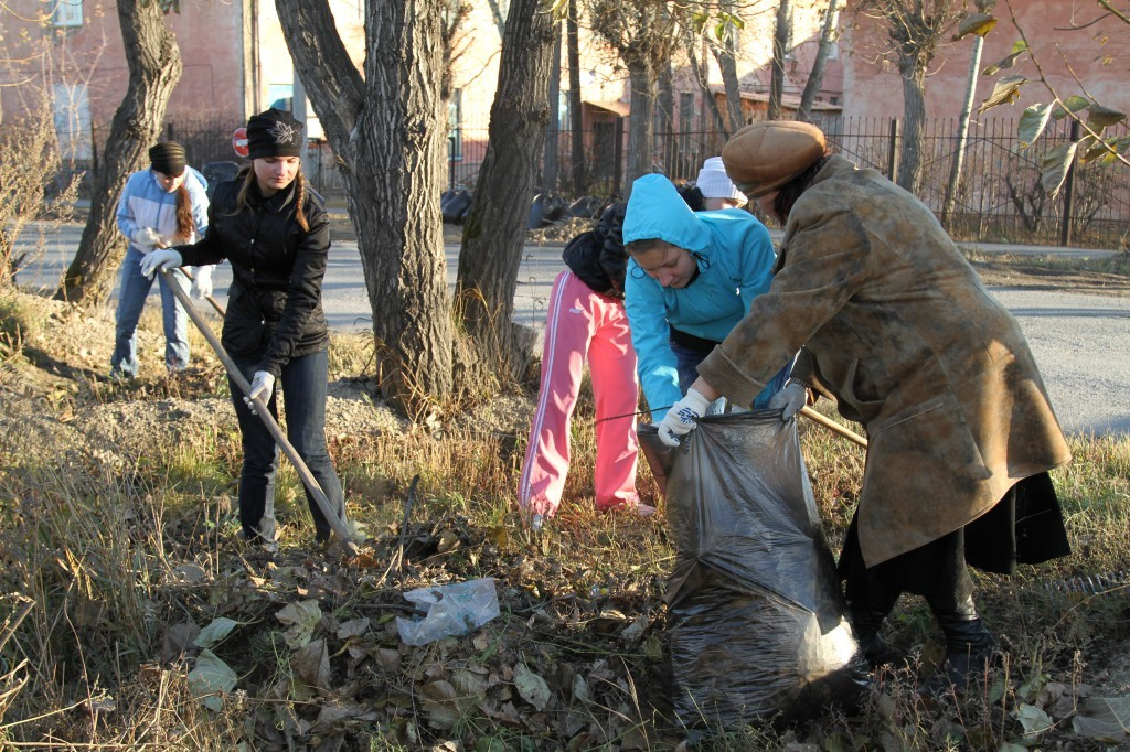Акции экологического субботника «Зеленая Россия» пройдут осенью на территории Свердловской области