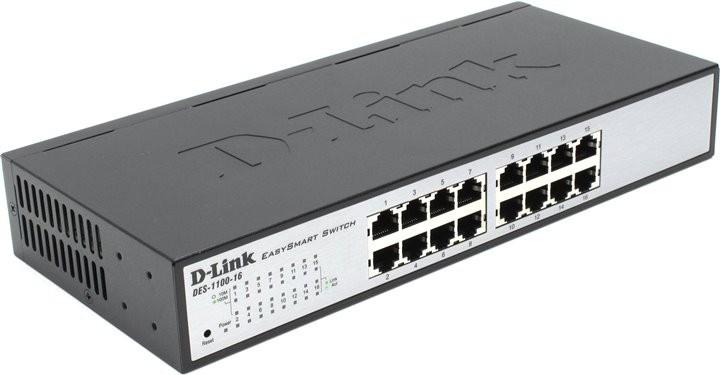 Обзор коммутатора D-link DES-1100
